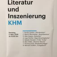Plakat im Deutschlandfunk
