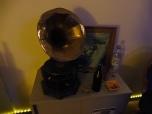 Grammophon und Kippen
