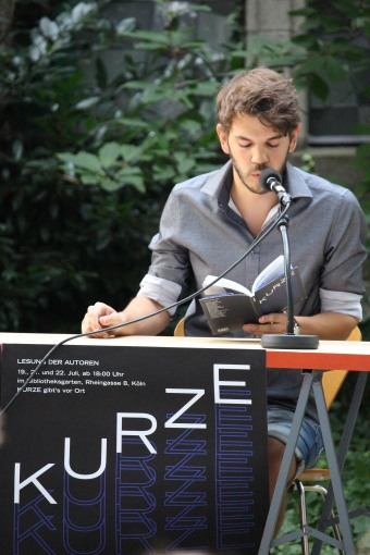 Thomas Empl liest Zollstock Südfriedhof